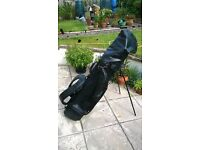 zucci Tour Touch golf clubs and bag