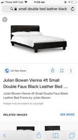 Small double bed with mattress
