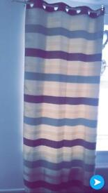Lovely striped curtains £25