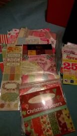 Large Stash of Cardmaking/Scrapbooking Materials