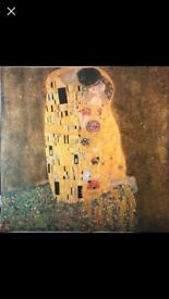 'The Kiss' Gustav Klimt