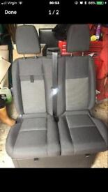 Ford transit 66 plate front seats