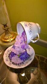 Mothers Day Gift, Floating china tea cup.