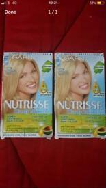 2 hair colour Garnier