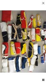 Complete set of vintage nautical signal flags A-Z