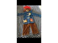 Padding bear dress up costume size 1-2 years