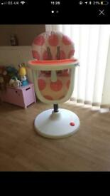 Cossatto going dotty highchair