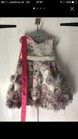 Baby monsoon dress 6-12 months