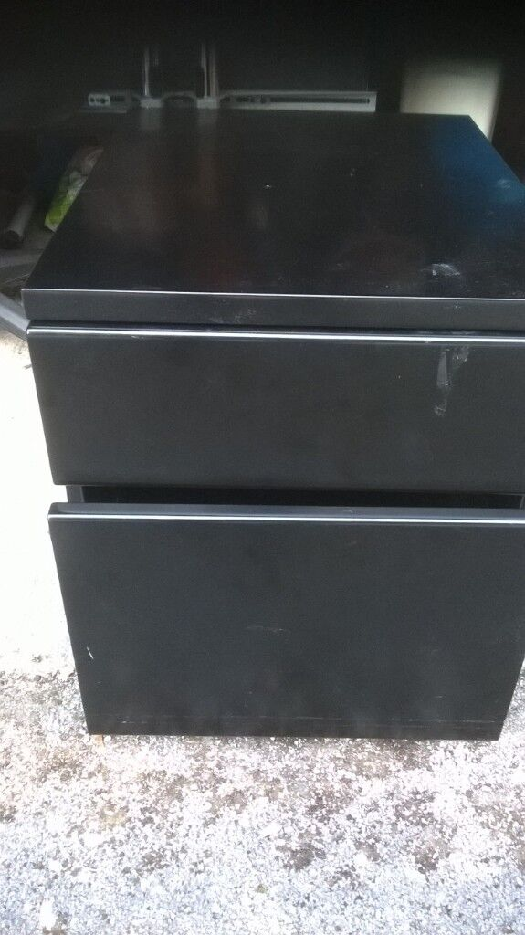 Superb Black Metal Cabinet With Wheels 10 In Sheffield South Yorkshire Gumtree Complete Home Design Collection Papxelindsey Bellcom