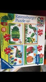 Hungry caterpillar jigsaw