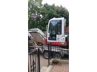 MINI DIGGER HIRE /JCB 3CX PLANT HIRE WITH OPERATOR