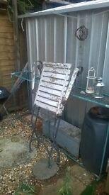 vintage garden chairs x 3