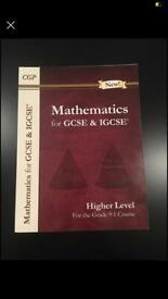 BRAND NEW GCSE AND IGCSE 9-1 MATHEMATICS CGP BOOK