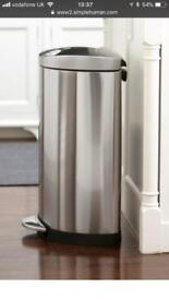 Simple Human 40l Bin with two containers