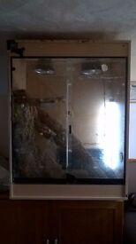 Large vivarium for sale.