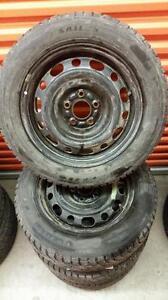 (168) Pneus Hiver - Winter Tires 205-60-16 Sailun 7/32