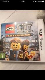 Lego city undercover Nintendo 3DS game
