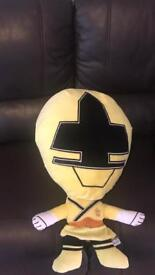 Large power ranger soft toy