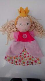 HABA Princess glove puppet - NWOT