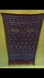 Genuine Moroccan rug or wall tapestry