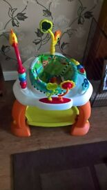 Baby activity centre and bouncer