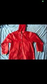Red Paddington coat