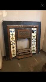 Victorian fire insert