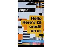 Giffgaff free sim 5 pound