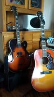 Various guitars for sale