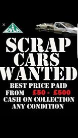 Wanted cars in any condition
