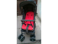 Hauck pushchair travel system