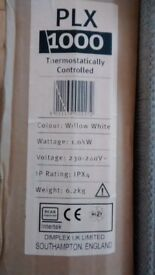 Dimplex plz 1000 thermostatically controlled radiator new and boxed