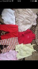 Girl clothes (3-6 months)