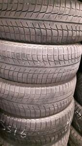 205/55/16  Michelin used winter tires set of four