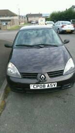 2008 Renault Clio Campus 1.2 petrol small family hatchback car