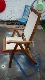 Garden Reclining Chair.