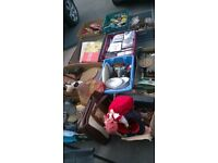 BIG JOB LOT CAR BOOT/COLLECTABLES/TOOLS /TOYS PLUS