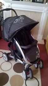 Graco baby's universal pram with accessories
