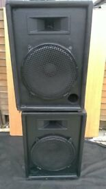 2 Electrovoice Bass Cabinets 400w each.