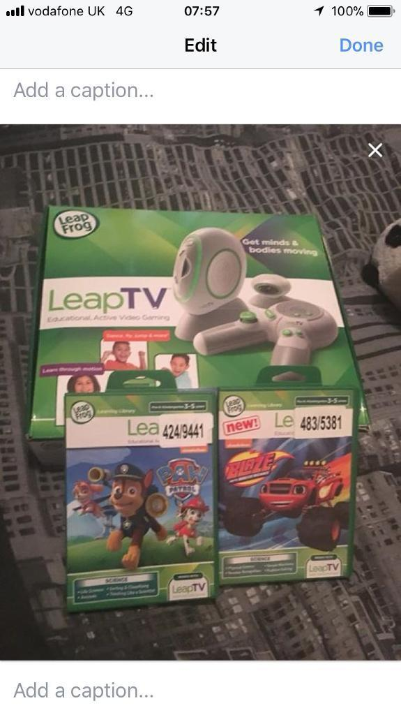 LeapTV Educational active video gaming