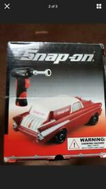 Snap on toy