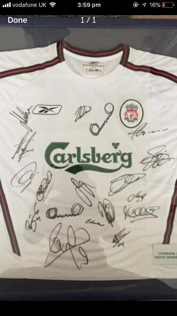 Framed Liverpool frames shirt | in Morley, West Yorkshire | Gumtree