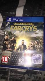 PS4 farcry 5 gold edition £50 ONO
