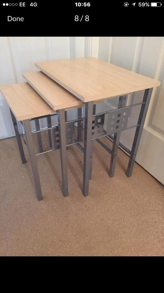 Coffee table - tv table - nest of tables