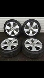 "17"" Audi A3 sport alloys 5x112 fitment"