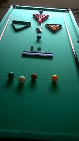6ft x 3ft Folding Snooker Table
