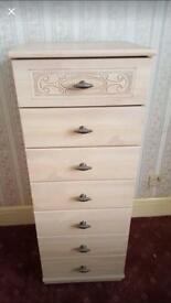 Tall Chest of drawers, LOCAL DELIVERY POSSIBLE.