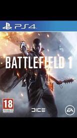 BATTLEFIELD 1 PS4 £35 ONO
