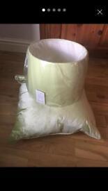 Laura Ashley cushion and light/lampshade