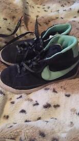 Boys size 11 Nike trainers